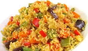 cuscus verduras - comedor escolar maresme